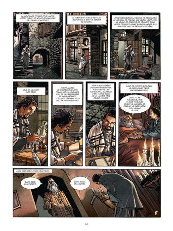 BD Le Kabbaliste de Prague, Tome 1 / 2, planche 8