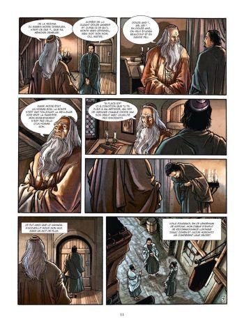 BD Le Kabbaliste de Prague, Tome 1 / 2, planche 9