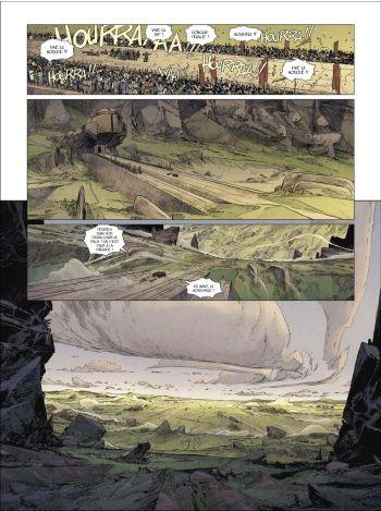 BD Horde du contrevent, T1 : Le cosmos est mon campement, planche 10