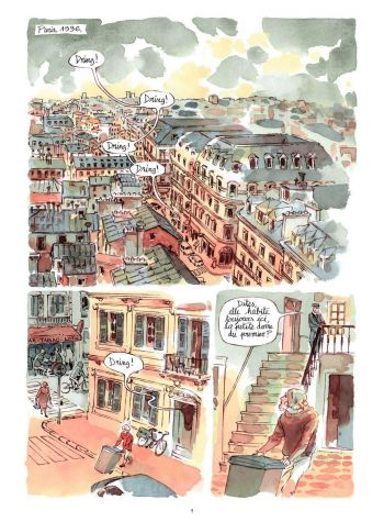 BD Morocco Jazz, planche 1