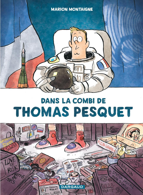 Concours BD Dans la combi de Thomas Pesquet (Dargaud)
