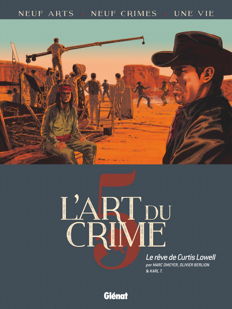 Couverture BD L' Art du Crime, T5 : Le Rêve De Curtis Lowell