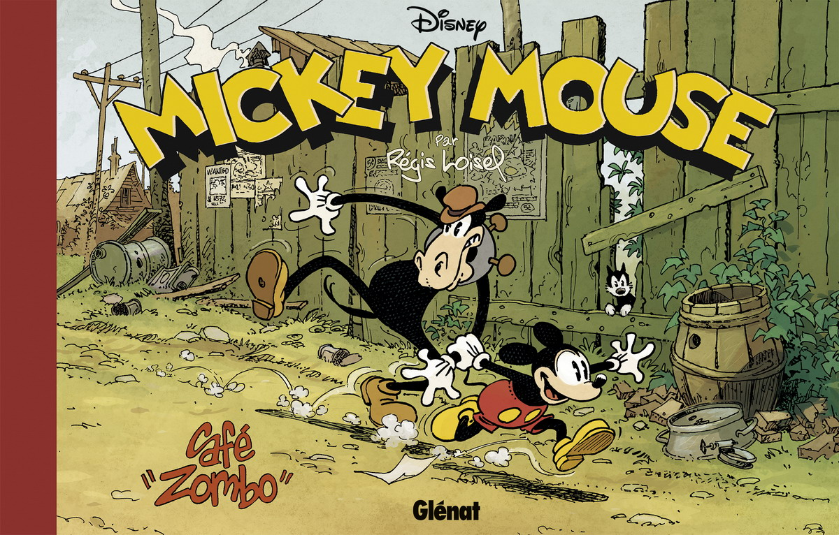 Couverture BD Café Zombo, Mickey Mouse