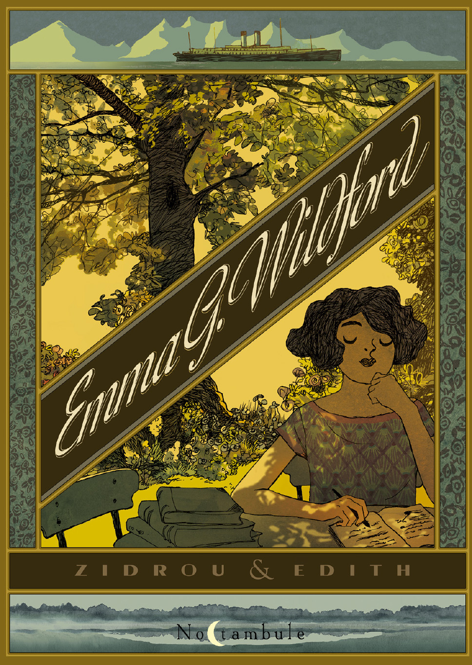 Couverture BD Emma G. Wildford