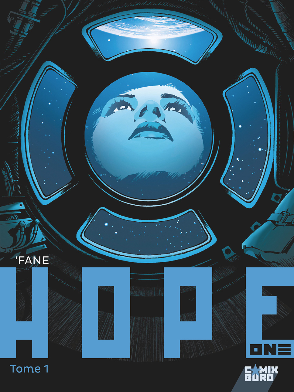 Couverture BD Hope One T1