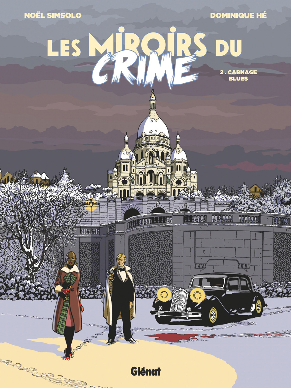 Couverture BD Les Miroirs du Crime T2, Carnage Blues
