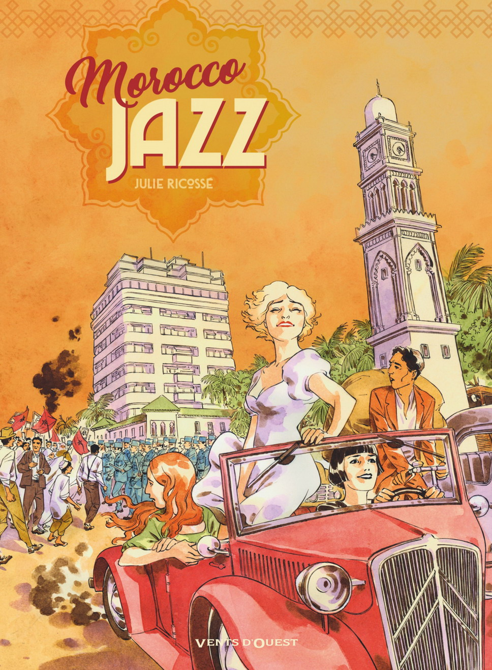 Couverture BD Morocco Jazz