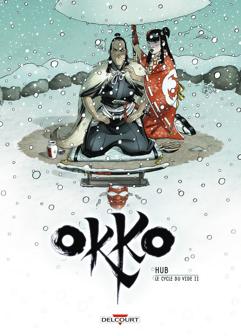 Couverture BD Okko T10, Le cycle du vide (2/2)