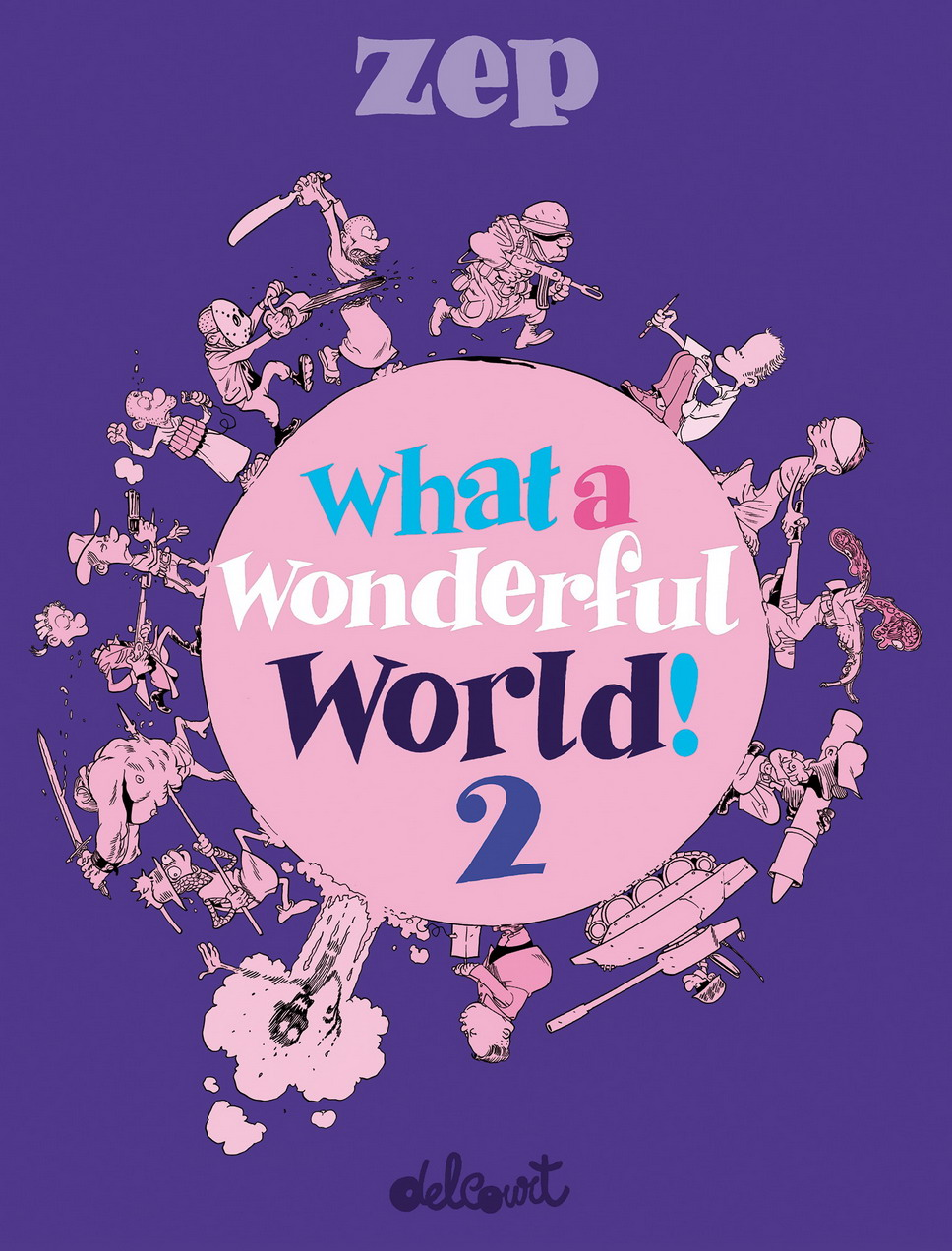 Couverture BD What a Wonderful World ! 2